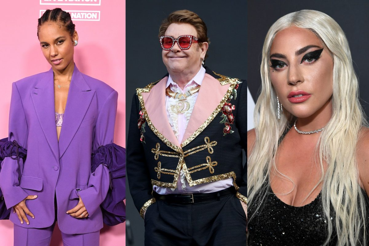 The iHeartRadio Living Room Concert will also feature Camila Cabello Elton John Lady Gaga and more.