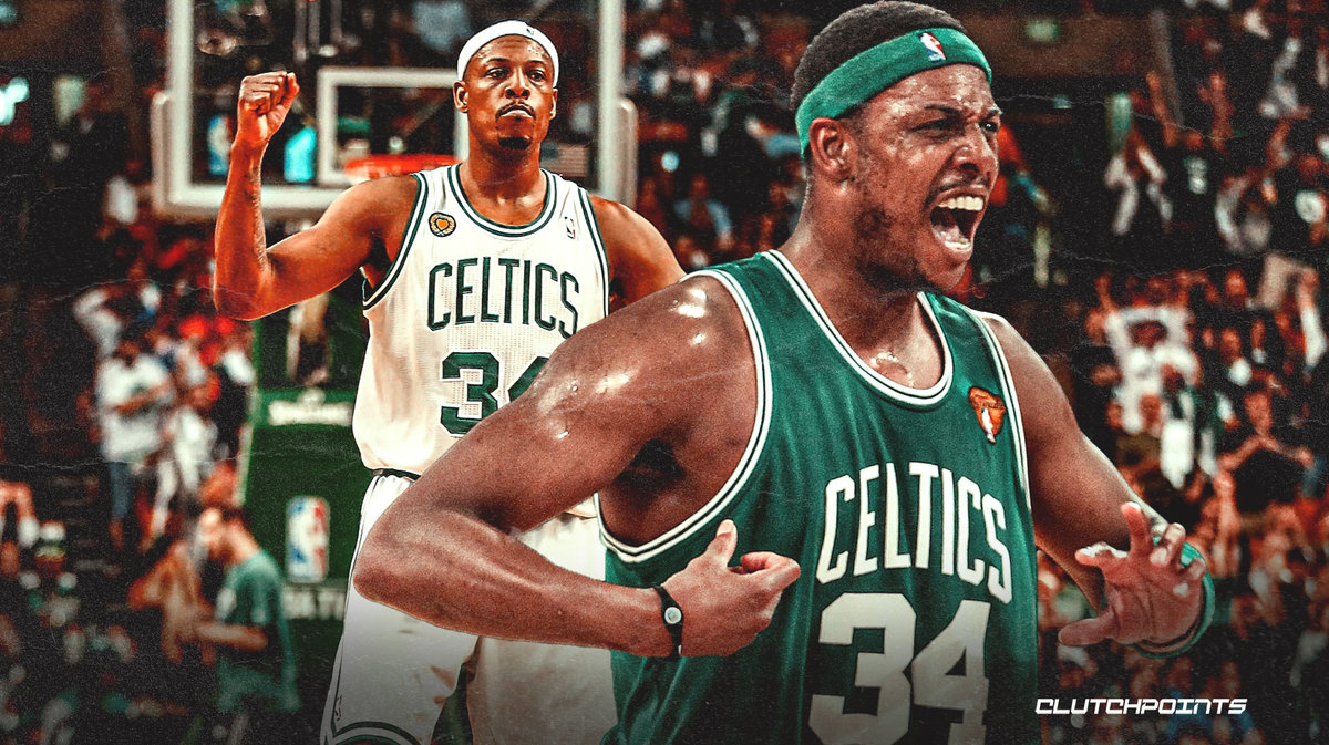 'I Have A Lakers Sweater I Used To Wear Everyday To School Says Paul Pierce