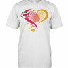 Heart Fingerprint Kansa City Chief T-Shirt Classic Men's T-shirt