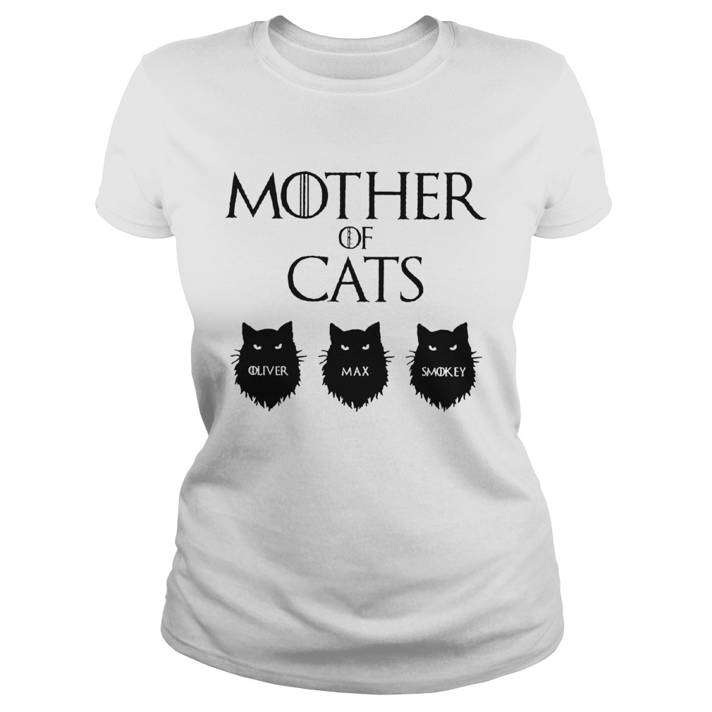 Mother Of Cats GOT Personalized Classic Ladies