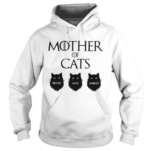 Mother Of Cats GOT Personalized  Hoodie