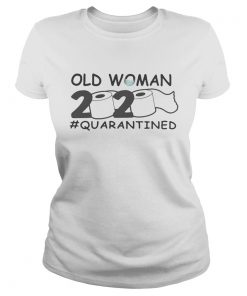 Old woman 2020 quarantined toilet paper Covid19  Classic Ladies