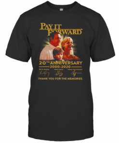 Pay It Forward American Drama Film 20Th Anniversary 2000 2020 Signature T-Shirt Classic Men's T-shirt