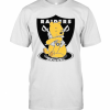 Pooh Tattoo Oakland Raiders T-Shirt Classic Men's T-shirt