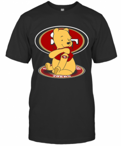 Pooh Tattoo San Francisco 49Ers T-Shirt Classic Men's T-shirt