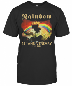 Rainbow 45Th Anniversary 1975 2020 T-Shirt Classic Men's T-shirt