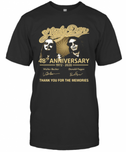 Steely Pan 48Th Anniversary 1972 2020 Signatures Thank You For The Memories T-Shirt Classic Men's T-shirt