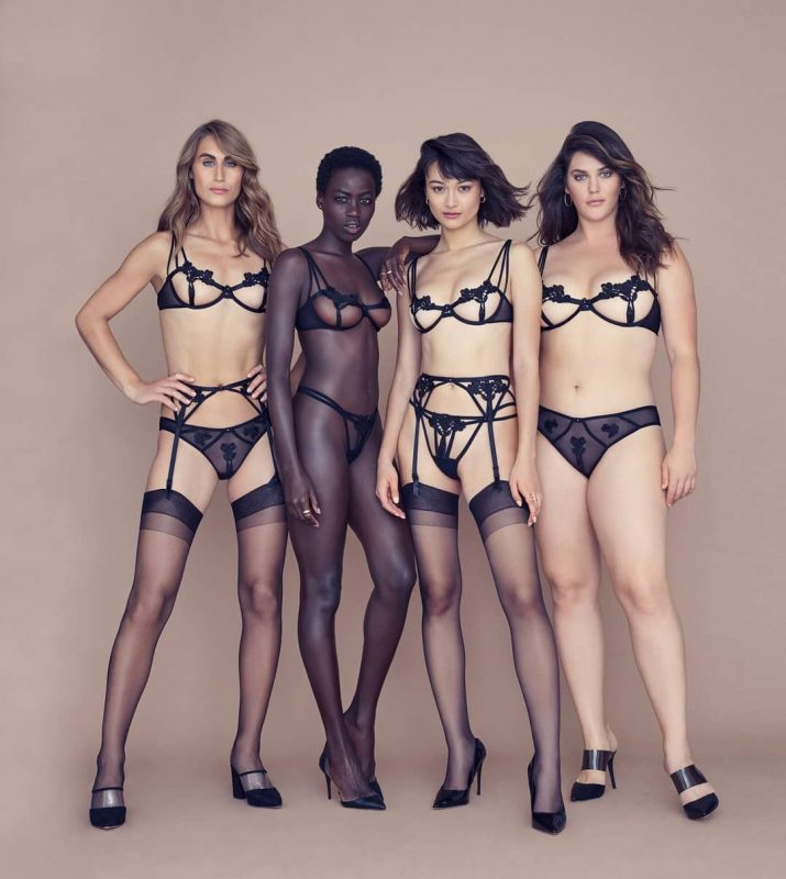 Victoria's Secret Casts Extended Size and Trans Models for Latest Campaign