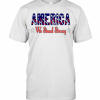 America United We Stand Strong T-Shirt Classic Men's T-shirt