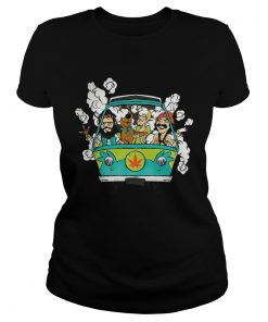 Cheech And Chong With Scooby Smoke  Classic Ladies