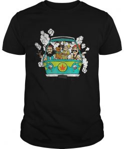 Cheech And Chong With Scooby Smoke  Unisex
