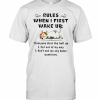 Cows Rules When I First Wake Up T-Shirt Classic Men's T-shirt