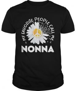 Favorite People Call Nonna Daisy Grandma  Unisex