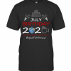 July Birthday 2020 The Year When Shit Got Real Quarantined Earth T-Shirt Classic Men's T-shirt