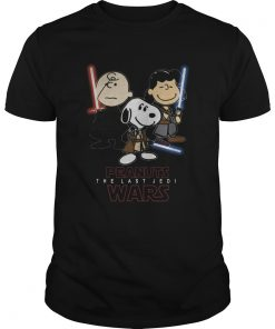 Top Snoopy Peanuts The Last Jedi Star Wars  Unisex