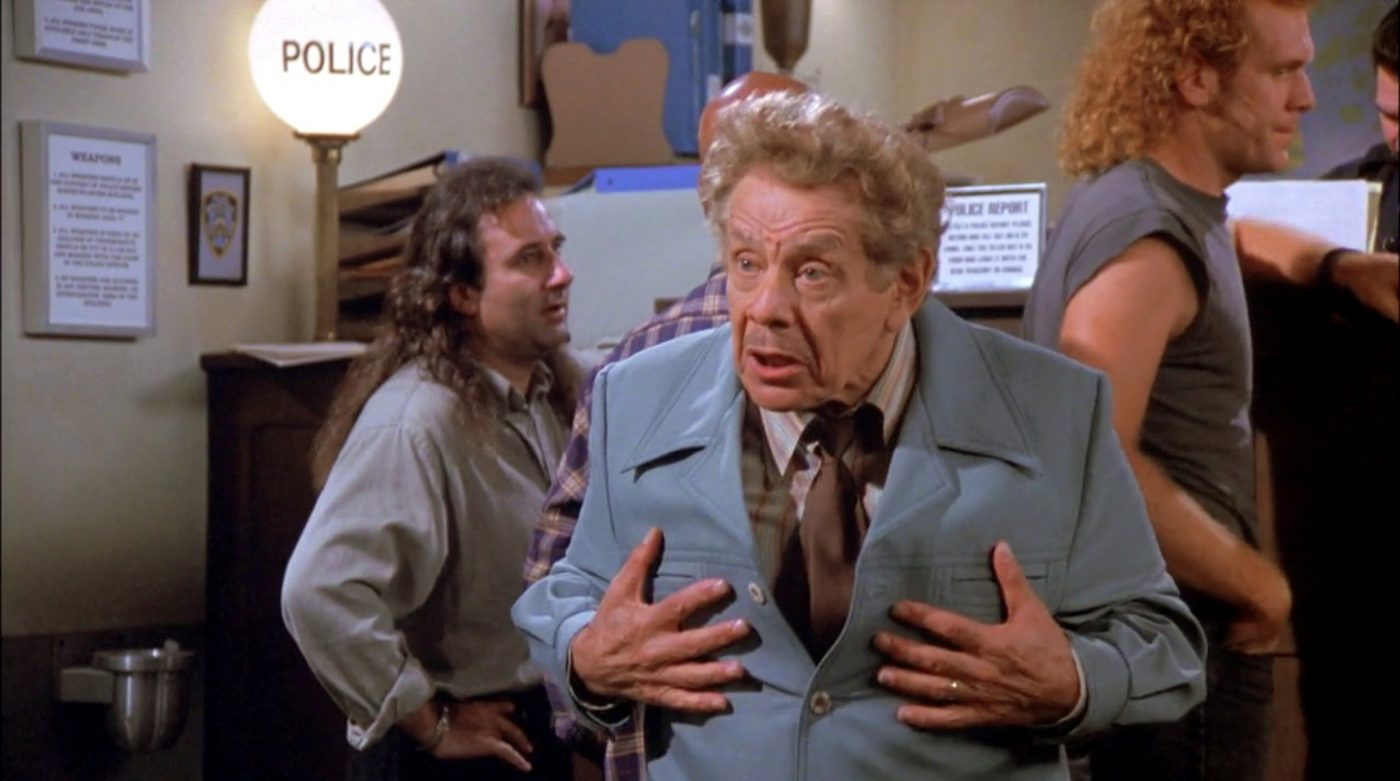 In Jerry Stiller the Rage of Jewish Fathers Found a Hilarious Outlet