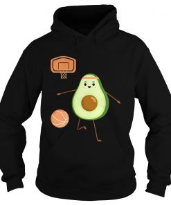 Avocado play volleyball  Hoodie