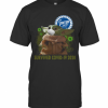 Baby Yoda Mask Stater Bros Markets Survived Covid 19 2020 T-Shirt Classic Men's T-shirt