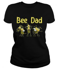 Bee dad happy fathers day  Classic Ladies