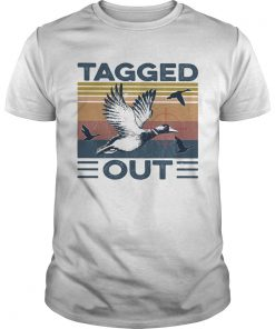Bird tagged out vintage  Unisex