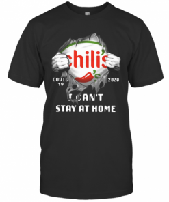 Chili'S Inside Me Covid 19 2020 I Can'T Stay At Home T-Shirt Classic Men's T-shirt