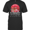 Detroit Red Wings 95Th Anniversary 1925 2020 Thank You For The Memories Signatures T-Shirt Classic Men's T-shirt