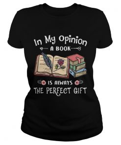 In my opinion a book is always the perfect gift flowers  Classic Ladies