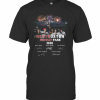 Nkotboston Fenway Park 2020 Signatures Firework T-Shirt Classic Men's T-shirt