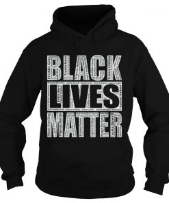 Black Lives Matter With Names Of Victims  Hoodie
