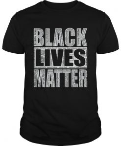 Black Lives Matter With Names Of Victims  Unisex