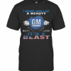 Blood Insides I Might Look Like A Beauty General Motors But I Deliver Like A Beast American Flag Independence Day T-Shirt Classic Men's T-shirt