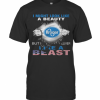 Blood Insides I Might Look Like A Beauty Kroger But I Deliver Like A Beast American Flag Independence Day T-Shirt Classic Men's T-shirt