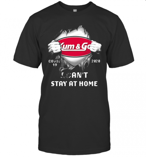 Blood Insides Kum And Go Covid 19 2020 I Can'T Stay At Home T-Shirt Classic Men's T-shirt