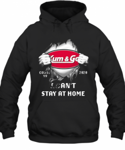 Blood Insides Kum And Go Covid 19 2020 I Can'T Stay At Home T-Shirt Unisex Hoodie