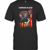 Cherokee Blood American Flag Independence Day T-Shirt Classic Men's T-shirt