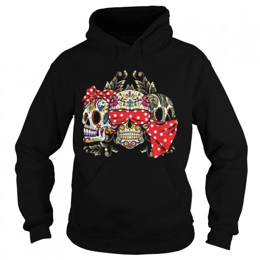Dont Miss This Deal On Three Skull Floral  Hoodie
