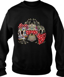 Dont Miss This Deal On Three Skull Floral  Sweatshirt