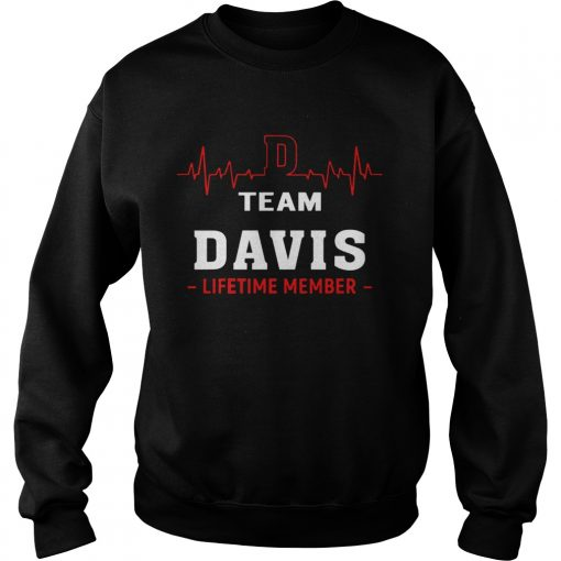 Heartbeat Team Davis Lifetime Member  Sweatshirt