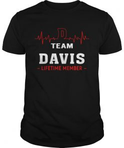 Heartbeat Team Davis Lifetime Member  Unisex