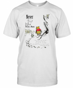 Never Forget Who You Are Pooh Bear And Piglet T-Shirt Classic Men's T-shirt