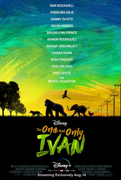 Disney+ Debuts First Trailer for 'The One and Only Ivan'