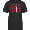 Davis Bertans Latvian Laser T-Shirt Classic Men's T-shirt