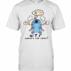 Disney Stitch Wtf Where'S The Food T-Shirt Classic Men's T-shirt