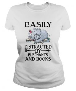 Easily distracted by elephants and books  Classic Ladies