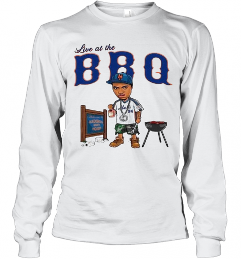Live At The BBQ T-Shirt Long Sleeved T-shirt