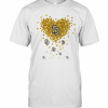 Love San Diego Padres Baseball Logo Hearts T-Shirt Classic Men's T-shirt