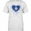 Love Toronto Maple Leafs Baseball Heart Diamond T-Shirt Classic Men's T-shirt