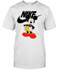 Mickey Mouse Nike Logo T-Shirt Classic Men's T-shirt