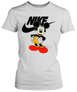 Mickey Mouse Nike Logo T-Shirt Classic Women's T-shirt