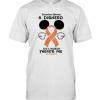 Mickey Mouse Somewhere Between A Disnerd And A Warrior There'S Me Ms Awareness T-Shirt Classic Men's T-shirt